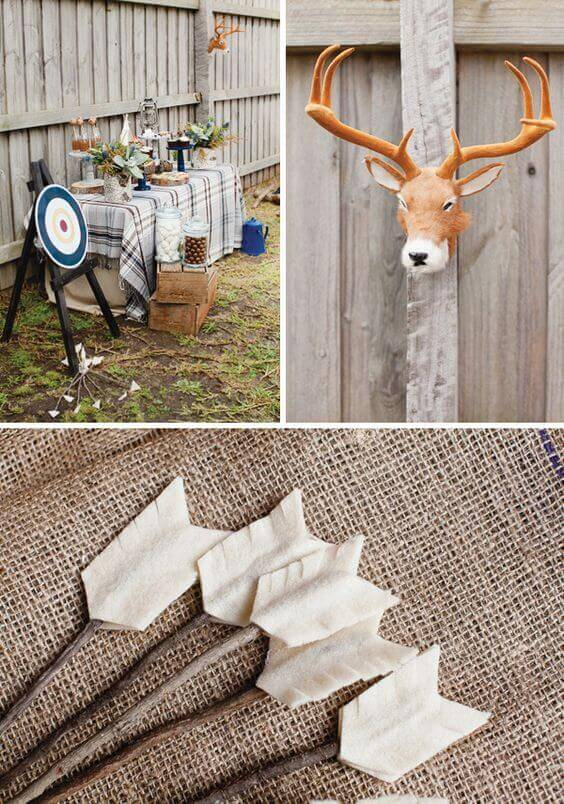 Winter Backyard Party Ideas : 21 Backyard Winter Camping Party  Leo & Bella, as seen on Hostess