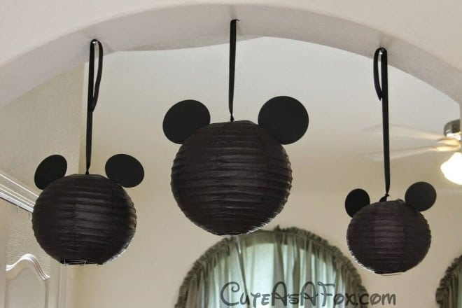 23 Mickey Mouse Lanterns