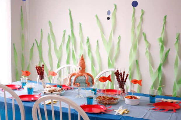 23 Enchanting Under The Sea Party Ideas Spaceships And Laser Beams