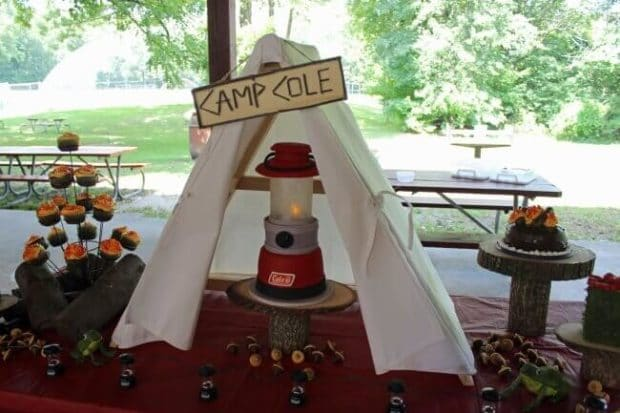 Coleman Lantern Cake