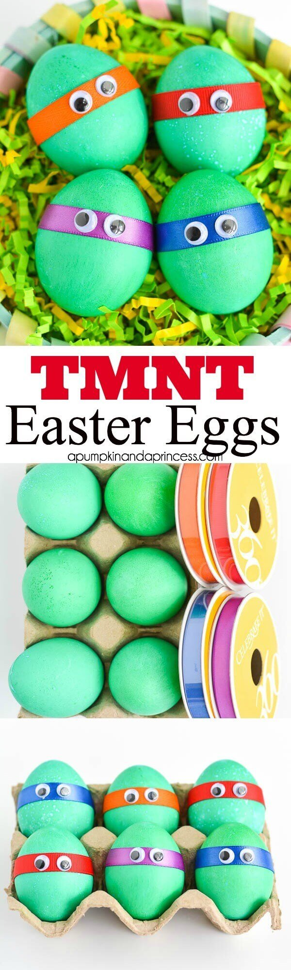 Teenage Mutant Ninja Turtle-themed Easter eggs are easy and fun