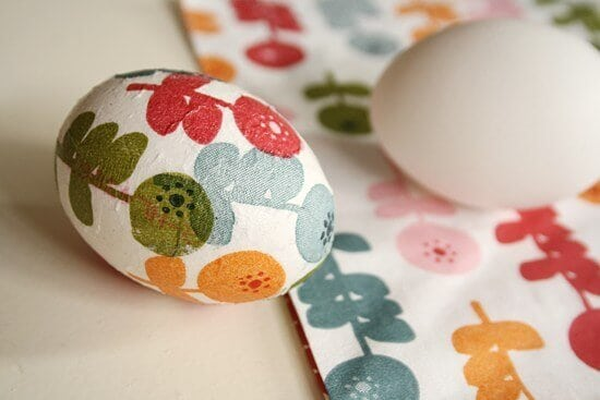Decoupage Easter Eggs for lasting decoration