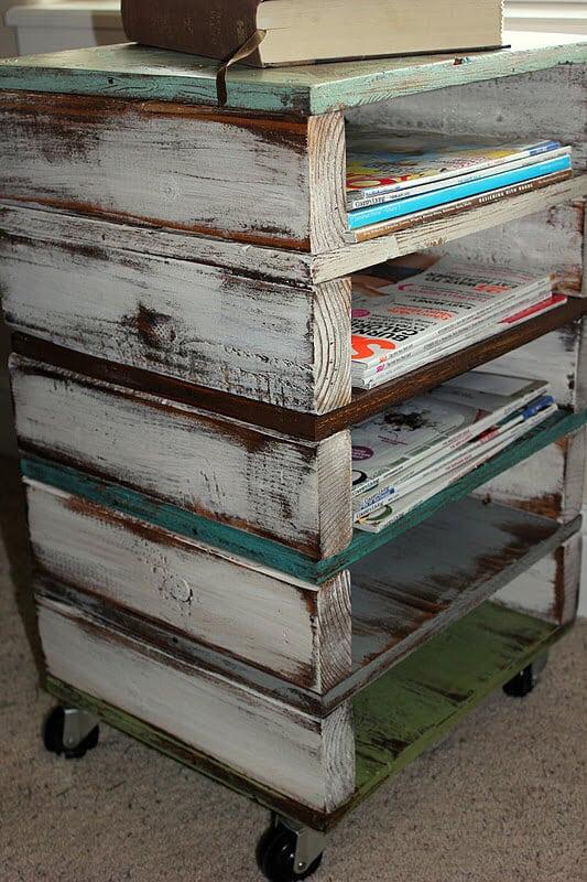 9 Rolling Pallet Storage