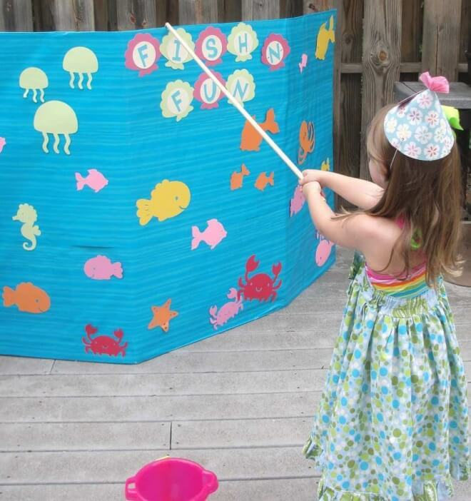 23 enchanting under the sea party ideas spaceships and for Fish pond game