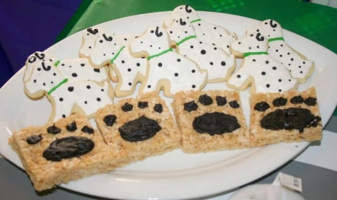Boys Puppy Themed Birthday Party Cookie ideas