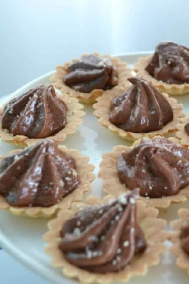 Boys Whale Baby Shower Party Food Mini Chocolate Pie