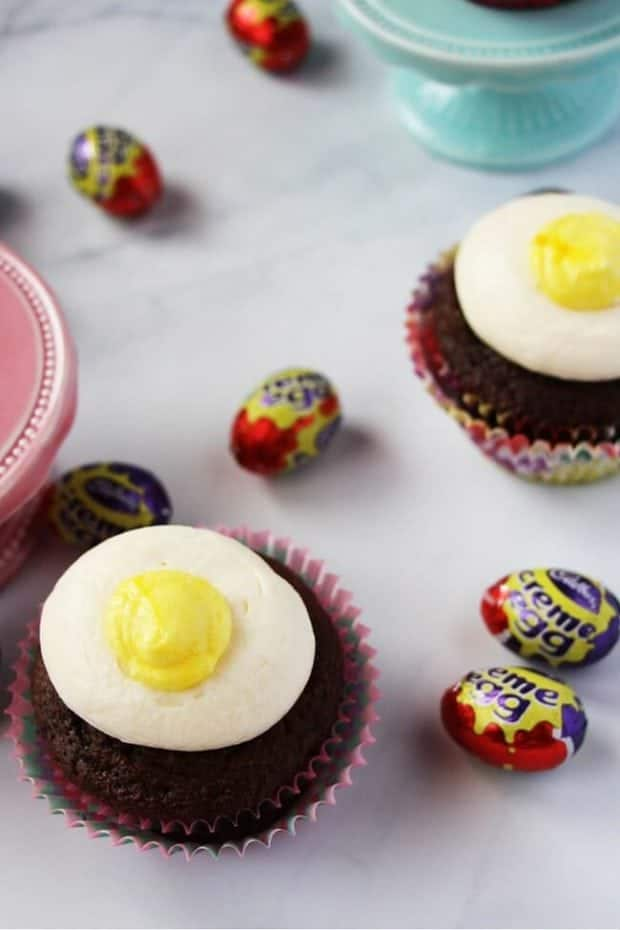 Cream Egg Cupcakes Spaceships And Laser Beams