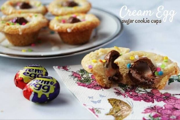 Cream Egg Sugar Cookie Cups (2)