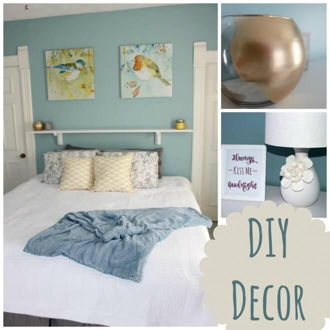 Simple DIY Decor Ideas on a Budget