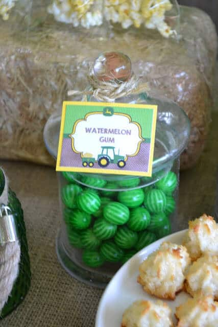 Boy's Farm Tractor Sweets