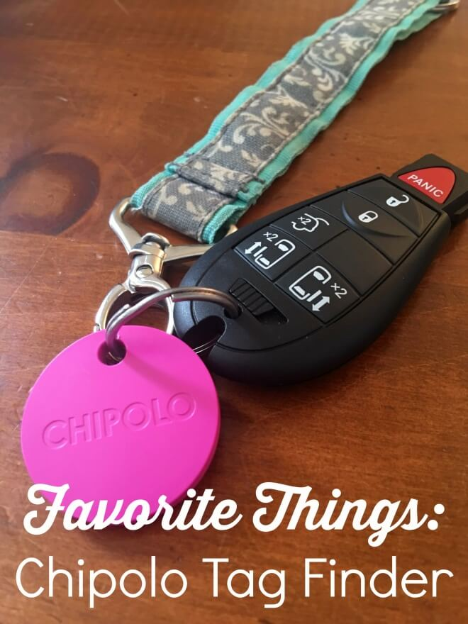Favorite Things Chipolo Tag Finder