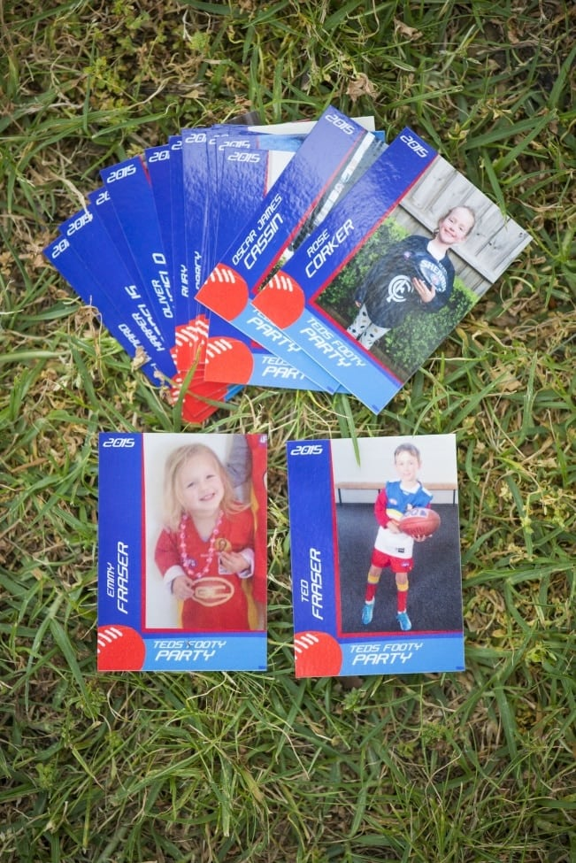 Football Birthday party Favor Ideas