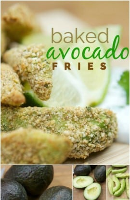 Baked Avocado Fry Recipe