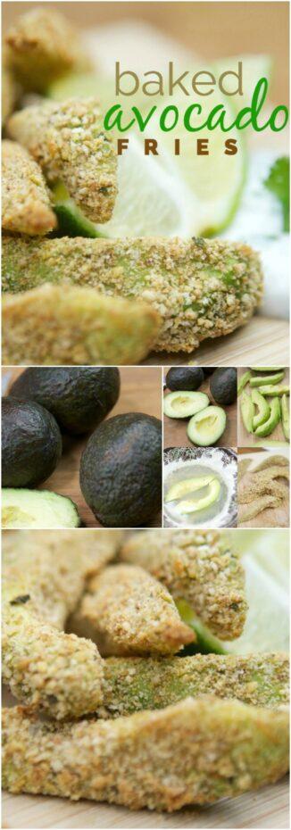 Baked Avocado Fry Recipe