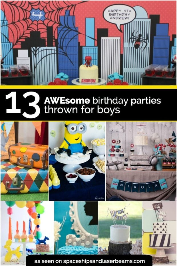 Awesome Birthday Party For Boys