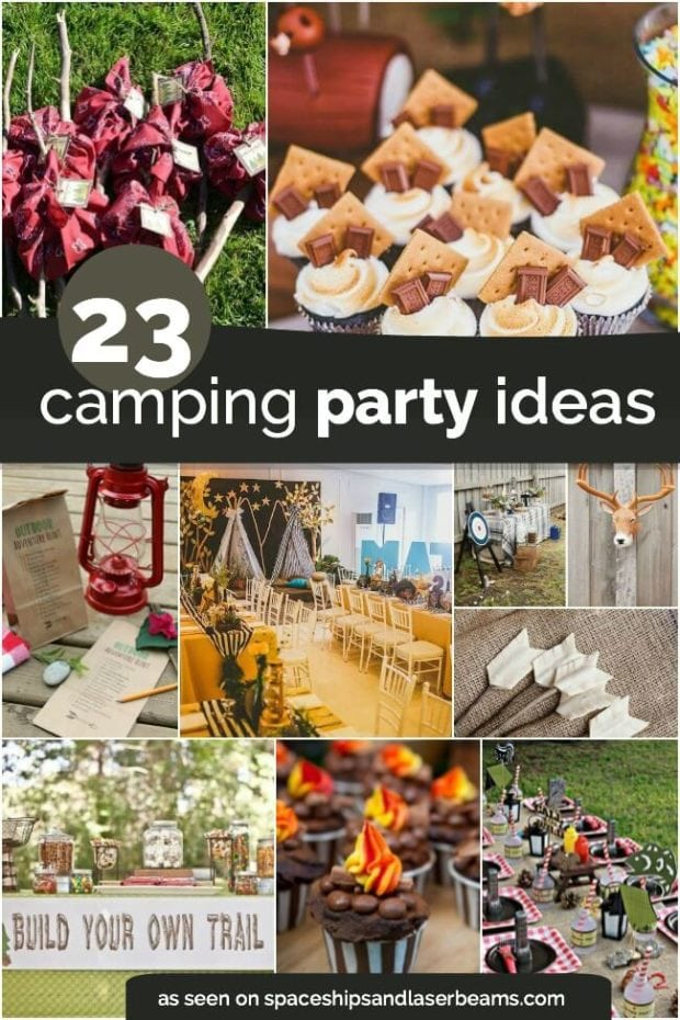 Camping Birthday Party Ideas Boys