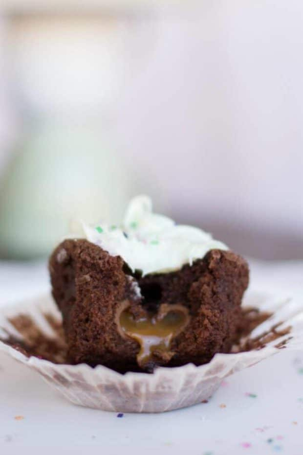 Caramel Easter Egg Cupcake Recipe