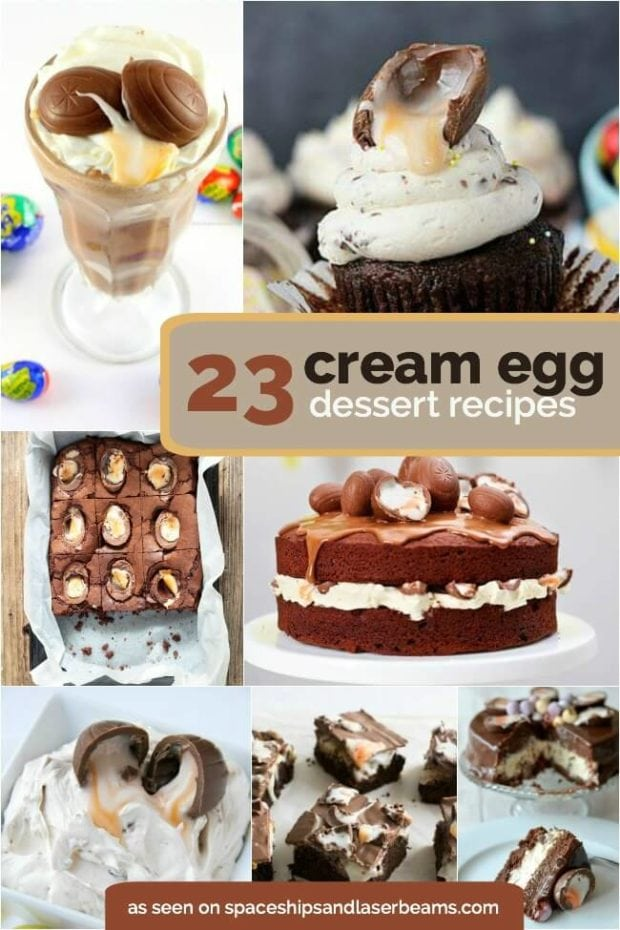 23 Cream Egg Recipes