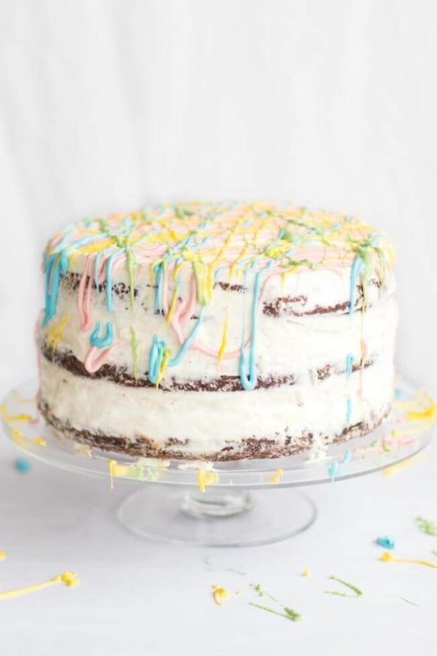 Easter Ice Cream Cake