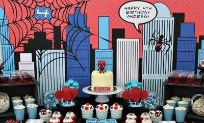 feature-boy's-spiderman-theme-birthday-desserts