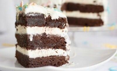 Easy Naked Ice Cream Cake Recipe