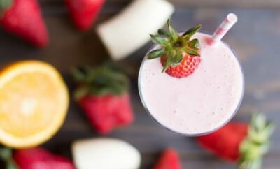 Easy Strawberry Banana Smoothie Recipe