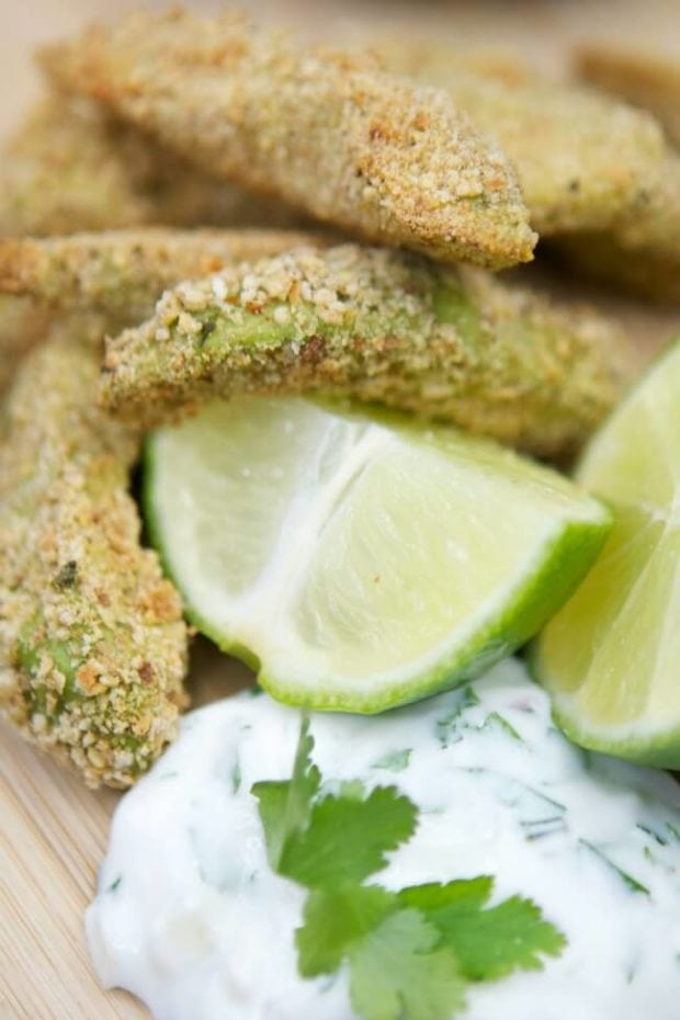 How to Bake Avocado Fries