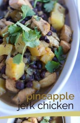 Pineapple Jerk Chicken Recipe