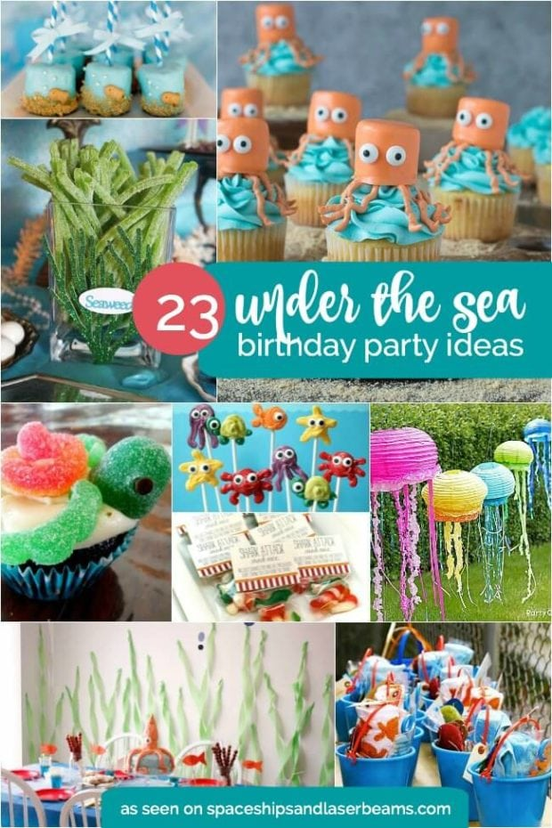 Under The Sea 4th Birthday Party