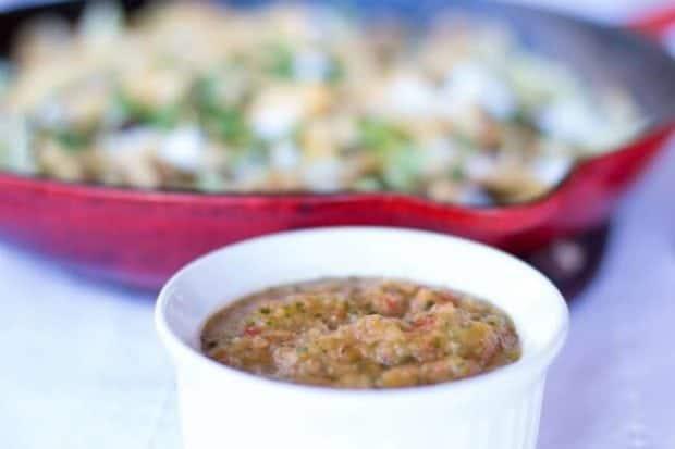 Pineapple Salsa for Nachos
