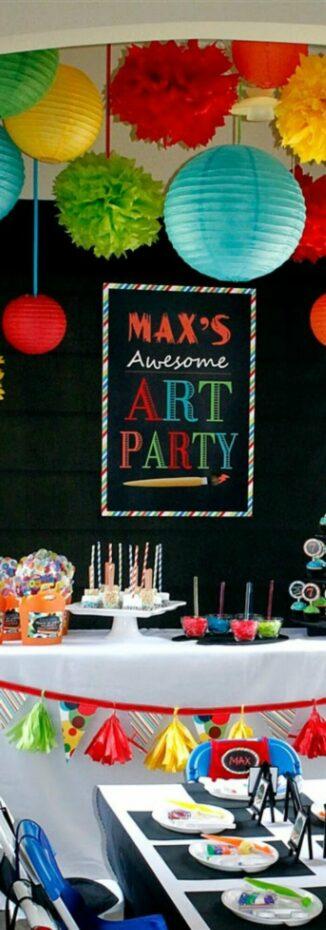 pinterest-art-party