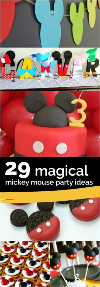 29 Mickey Mouse Birthday Party Ideas - Spaceships and Laser Beams