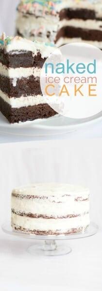 Naked Ice Cream Cake Recipe