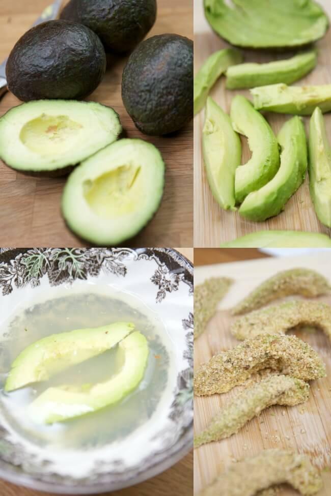 Recipe for Avocado Fries
