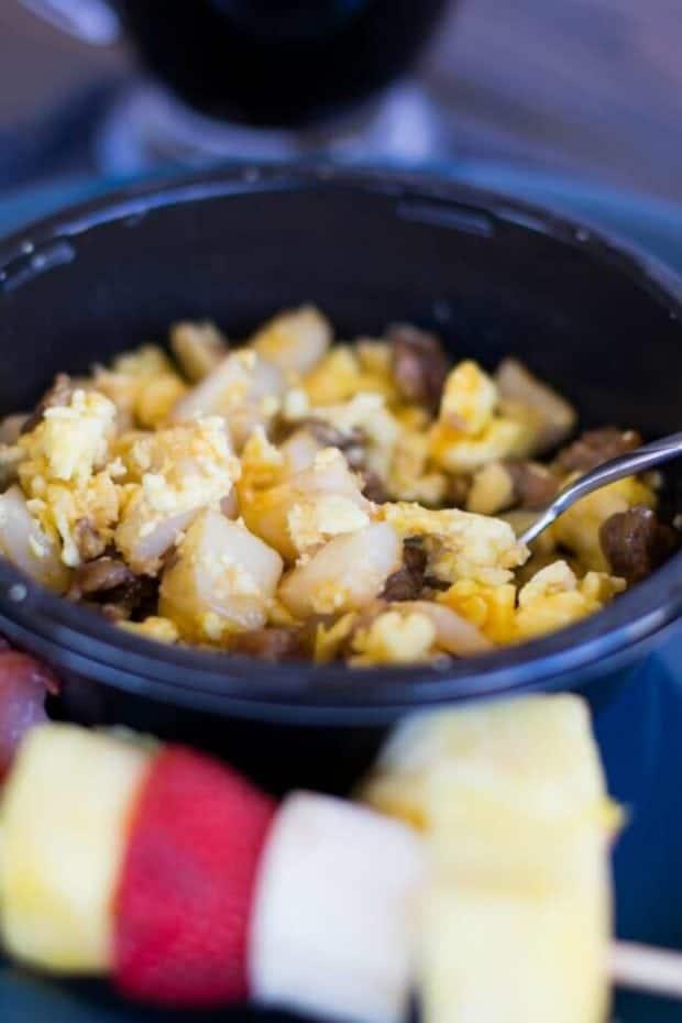 Sausage Egg Breakfast Bowls