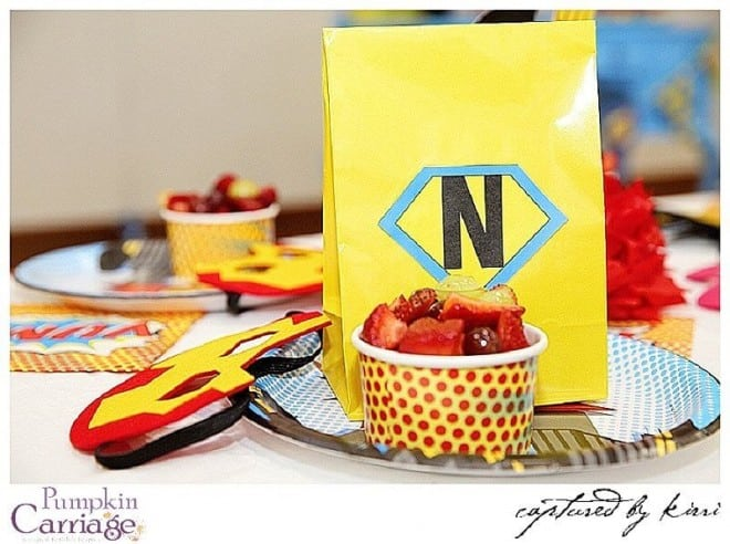 superhero birthday party food fruit ideas