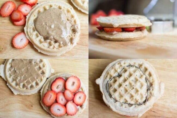 Waffle Sandwich for Kids