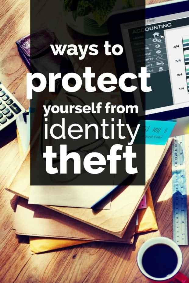 Ways to Protect Yourself from Identity Theft