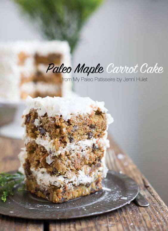 Paleo Maple Carrot Cake
