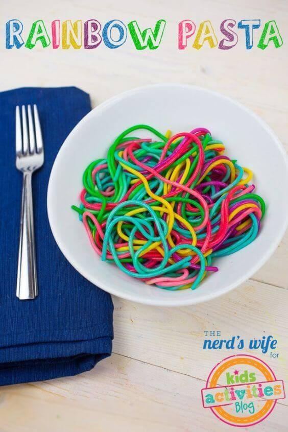 Rainbow Pasta