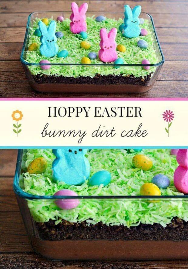 Easter Bunny Dirt Cake