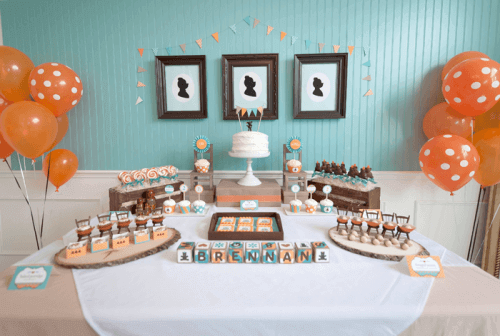 Goldilocks and the Three Bears Birthday Party