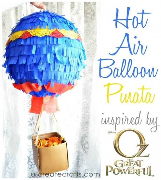Hot Air Balloon Pinata Tutorial