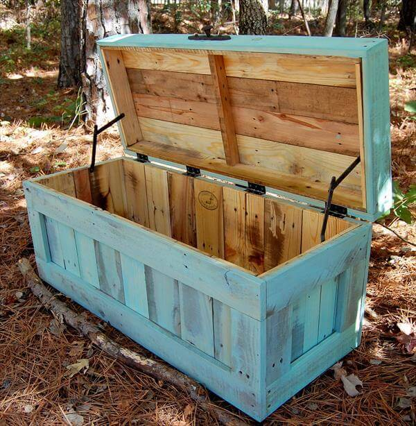 Make your own Pallet Chest