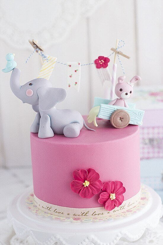 Fondant Elephant Tutorial