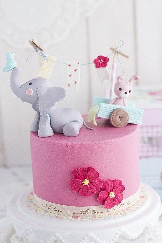 Fondant Elephant Tutorial