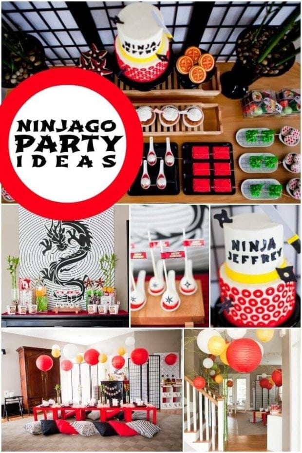 These amazing Ninjago party ideas will provide inspiration for decorations, foods, and games.