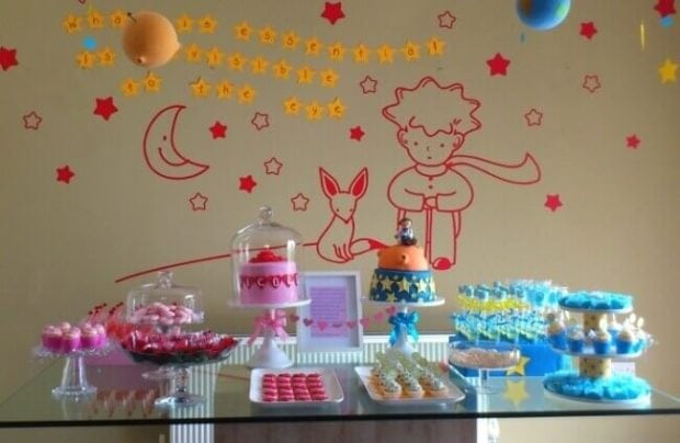 little_prince_book_dessert_table