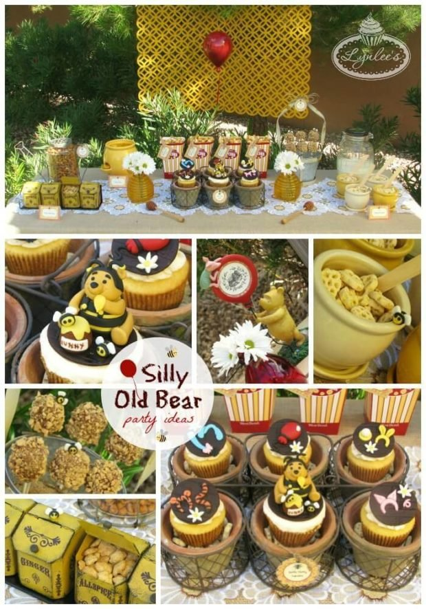 Winnie the Pooh Birthday Party Ideas