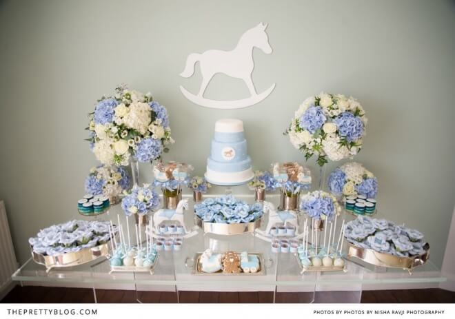 Rocking Horse Table Decorations